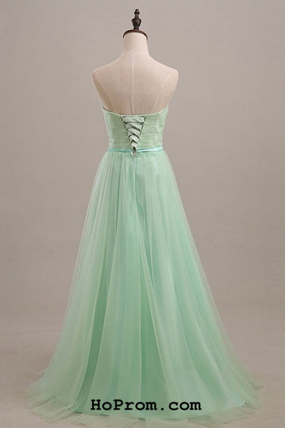 A Line Simple Prom Dresses Simple Evening Dresses
