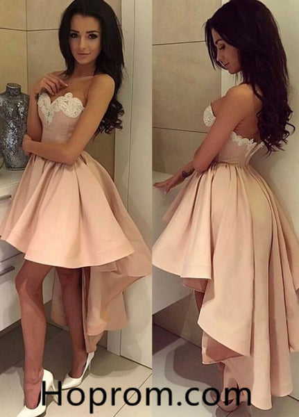 Sexy Prom Homecoming Dress, Pink Sequuins Homecoming Dress