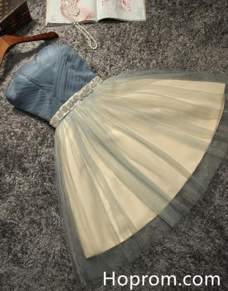 Cute Short Prom Dresss, Cute Tulle Homecoming Dress