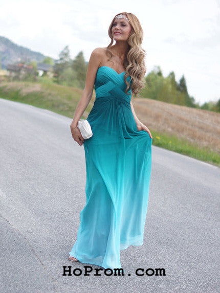 A Line Prom Dresses Ombre Prom Dress Ombre Evening Dresses