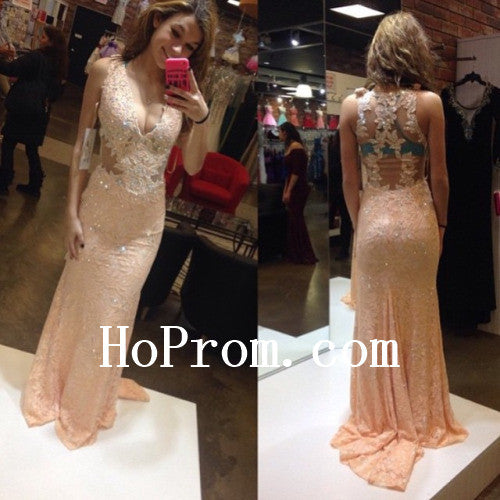 Sparkle Prom Dresses,Lace Prom Dress,Long Evening Dress