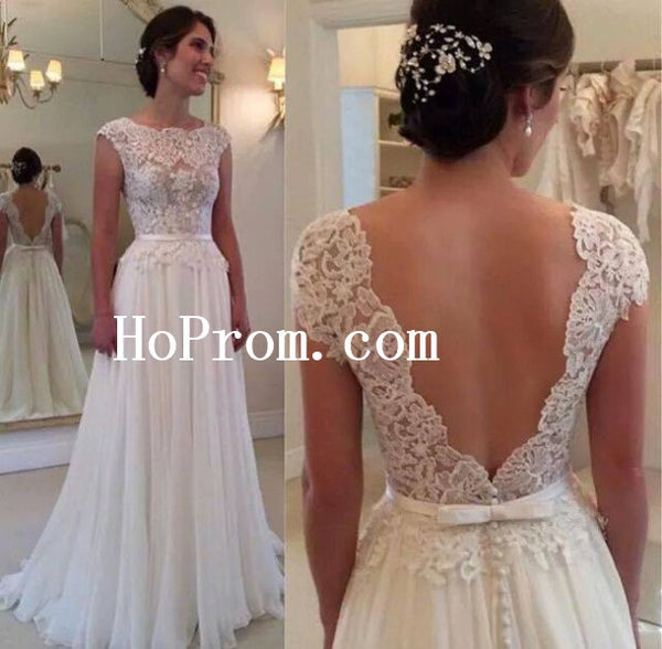 Floor Length Prom Dresses,White Prom Dress,Evening Dress