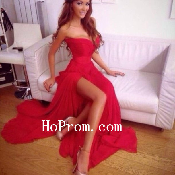 Sexy Sweetheart Prom Dresses,Red Prom Dress,Evening Dress