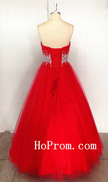 Bondage Red Prom Dress,Sweertheart Prom Dresses,Evening Dress
