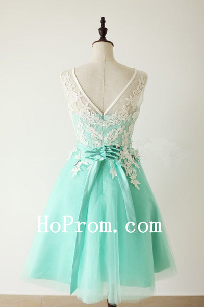 Short Tulle Prom Dresses,Turquoise Prom Dress,Evening Dresses