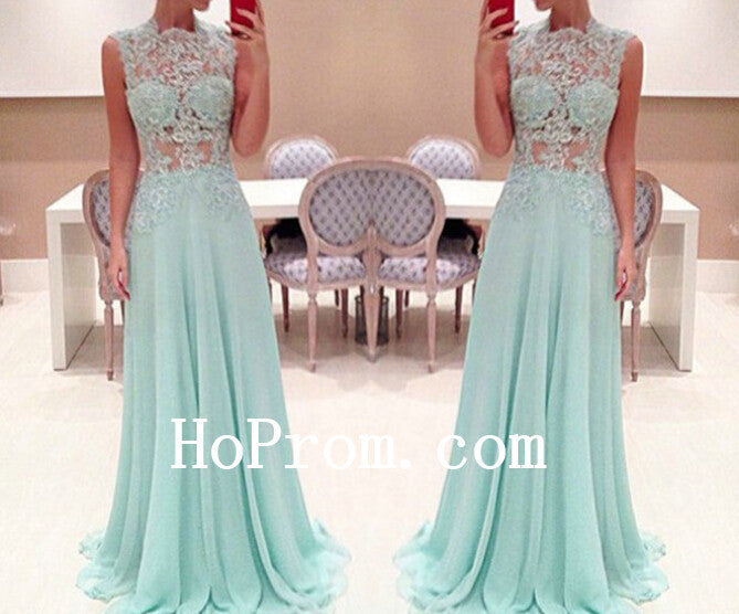 High Neck Prom Dress,See Through Prom Dresses,Evening Dress