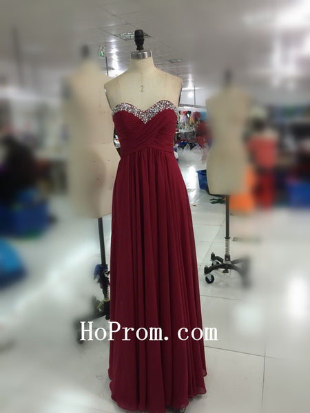 Lovely Sweetheart Prom Dress,Red Prom Dress,Evening Dress