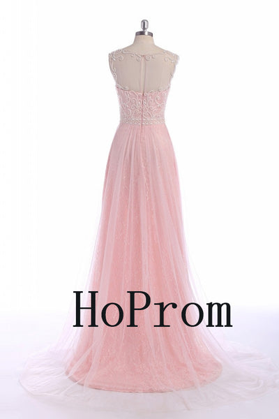 Lovely Pink Prom Dresses,A-Line Prom Dress,Evening Dress