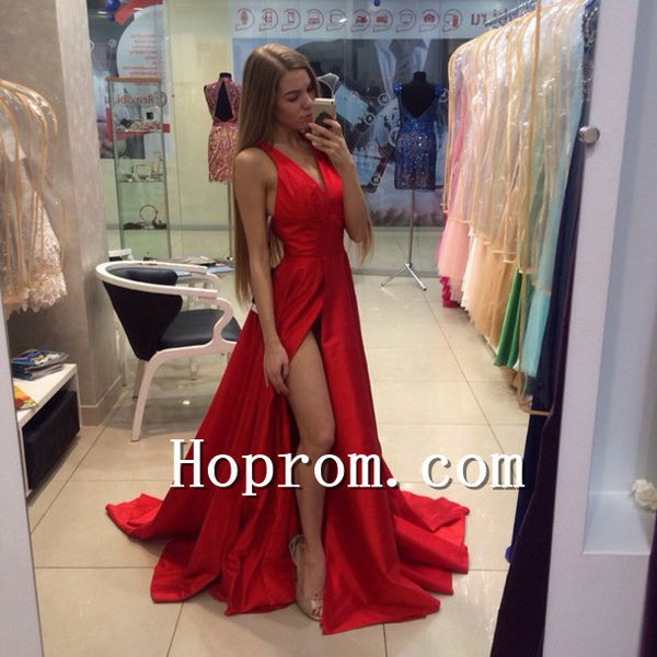 2018 A-Line Floor Length Prom Dress Evening Dresses