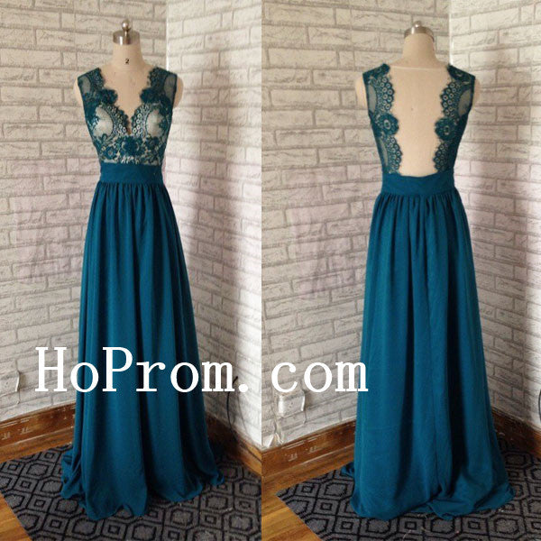Green Lace Prom Dresses,A-Line Prom Dress,Evening Dress