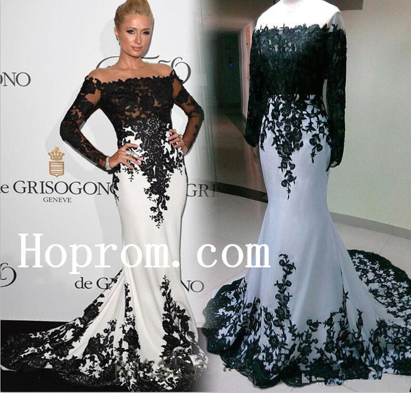 A-Line Prom Dresses,Long Sleeve Prom Dress,Evening Dress
