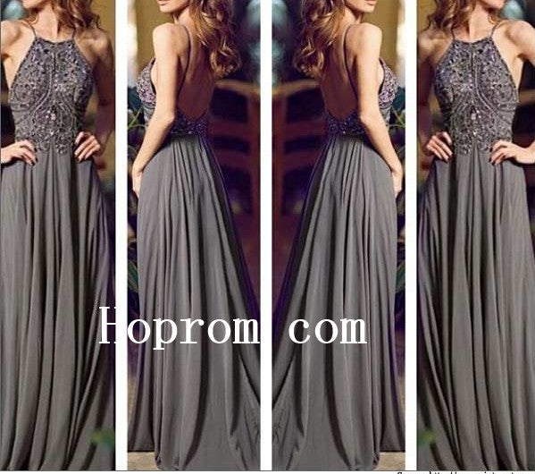 Popular Prom Dresses Halter Prom Dress Evening Dress Custom Size
