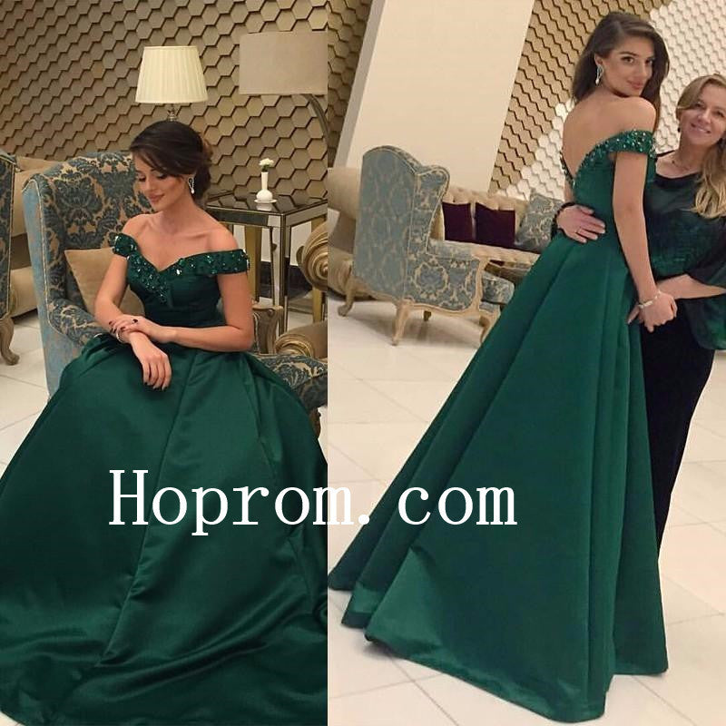 Off Shoulder Prom Dresses,Floor Length Prom Dress,Evening Dress