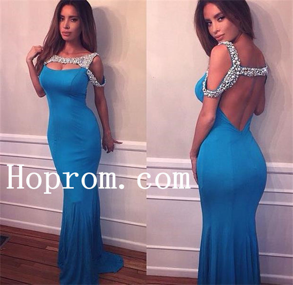 Off Shoulder Prom Dresses,Sheath Prom Dress,Evening Dress