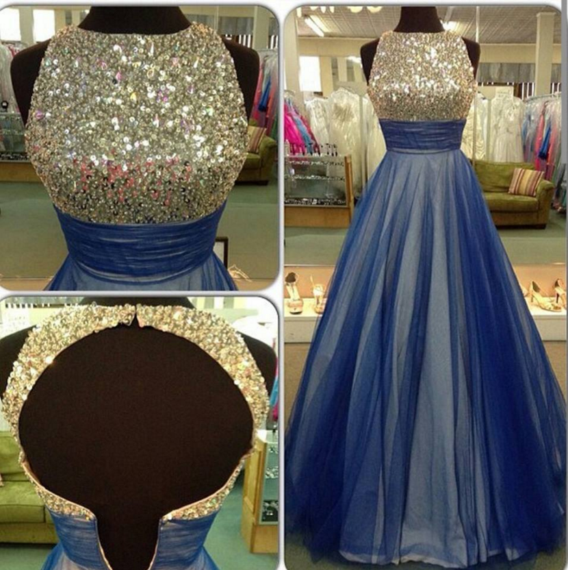 Long Prom Dresses,Sequin Long Prom Dress,Evening Dresses