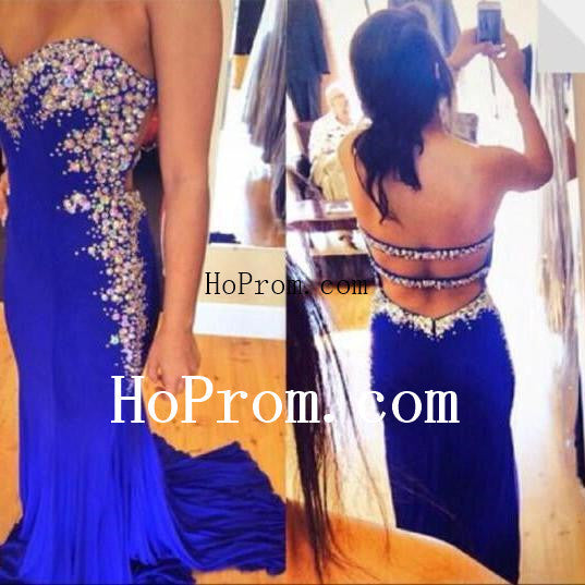 Strapless Backless Prom Dresses,Prom Dress,Evening Dress