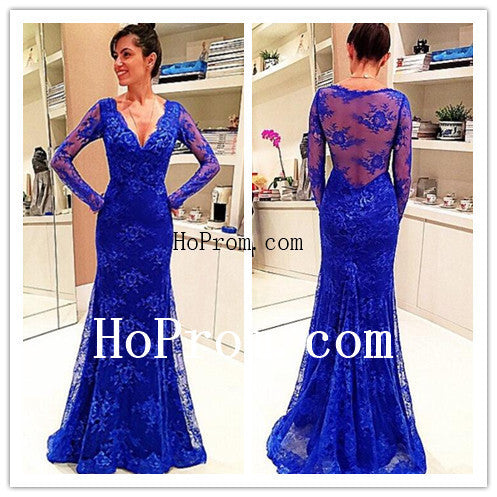 Mermaid Lace Prom Dresses,Floor Length Prom Dress,Evening Dress