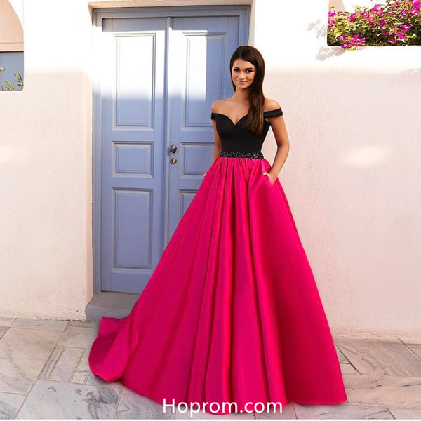 A Line Simple Prom Dresses 2018 Evening Dresses Online
