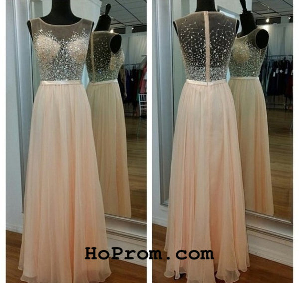 Prom Dresses Chiffon Prom Dress Elegant Evening Dress