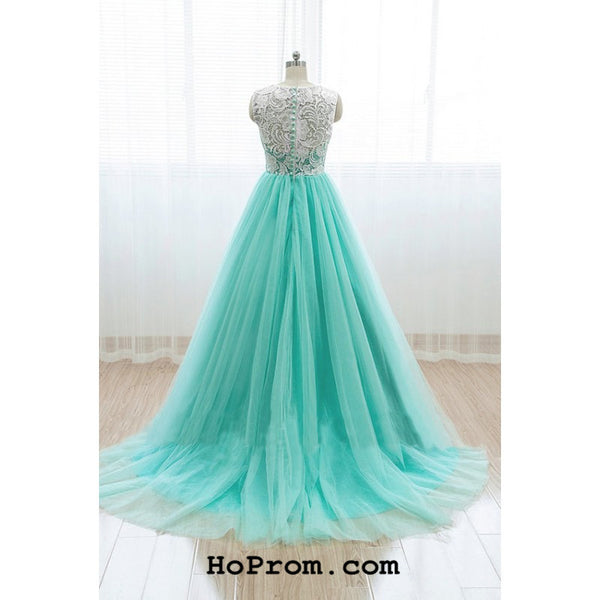 Lace Mint Prom Dresses Mint Prom Dress Lace Mint Evening Dress