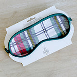 Plaid Xmas Sleep Mask