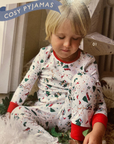 Toddler Xmas Pajamas