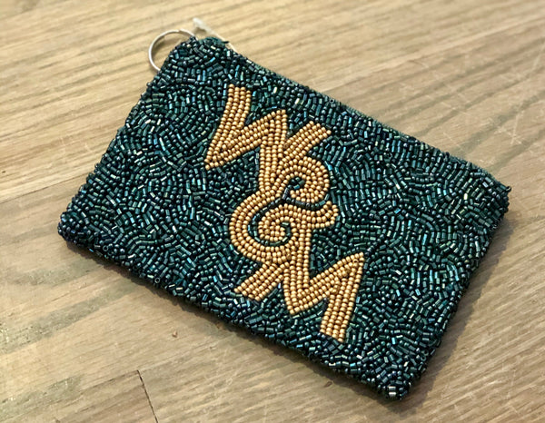 William and Mary Beaded Coin Purse