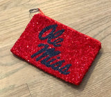 Ole Miss Beaded Coin Purse