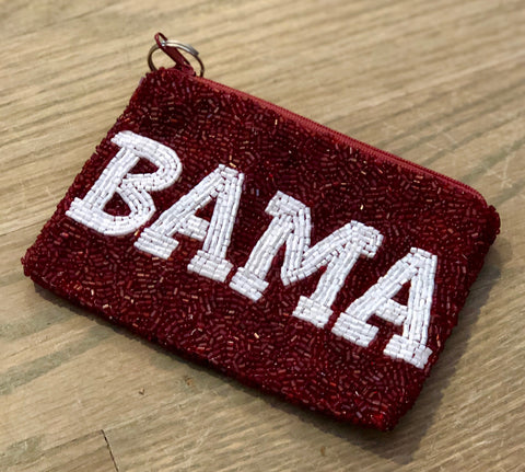 Alabama Beaded Coin Purse