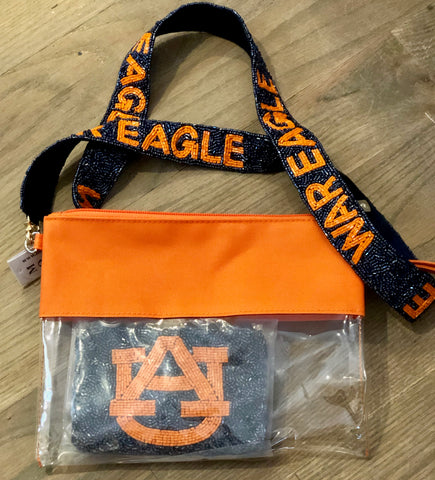 Auburn Beaded Coin Purse