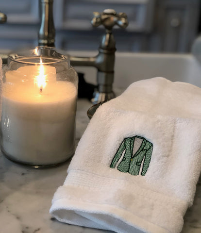 Masters Green Jacket Hand Towel
