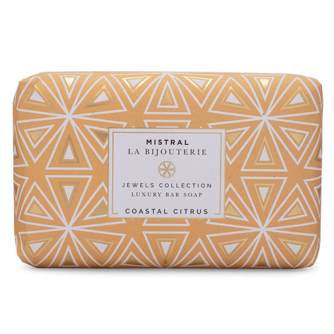 Mistral Coastal Citrus Jewels Bar Soap