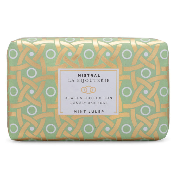 Mistral Mint Julep Jewels Bar Soap
