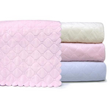Nana's Quilted Plush Baby Blanket