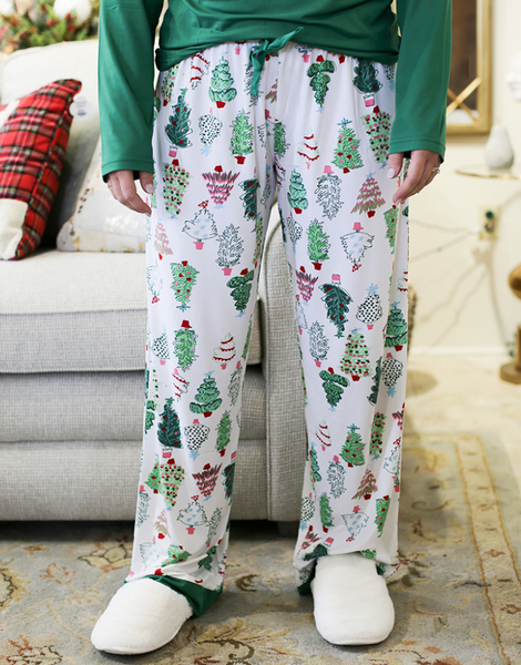 2020 Xmas Tree Pajama Pants