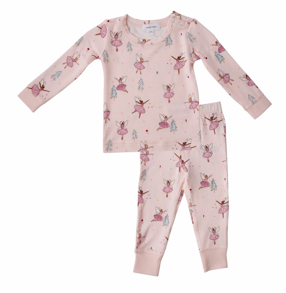 Sugar Plum 2 Piece Toddler Pajamas