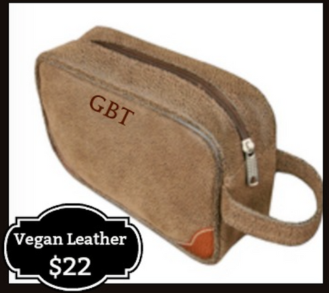 Vegan Leather Dop Kit
