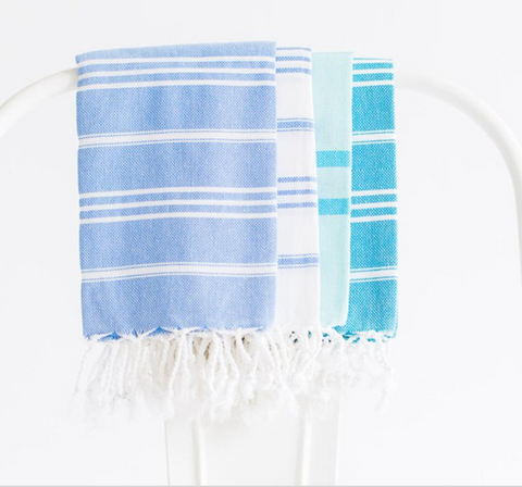 Striped Simple Turkish T Towel