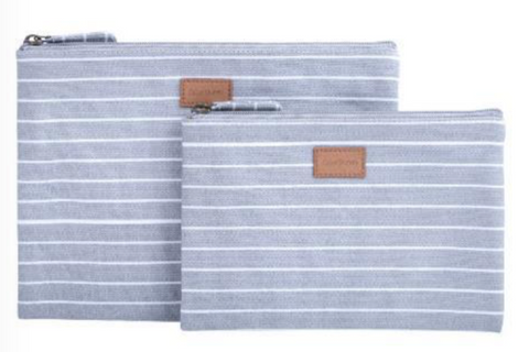 Linear Twin Set Pouches