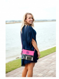 Clear Wristlet / Crossbody Purse