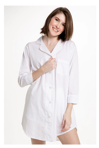 Button-Down Sleep Shirt