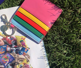 Colorful 4 Pocket Keychain