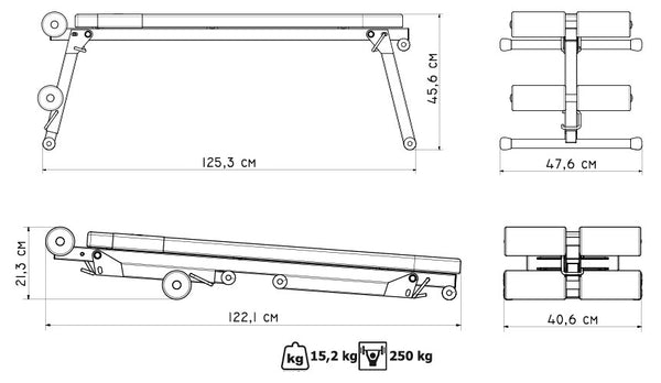 Flat Bench (Foldable)