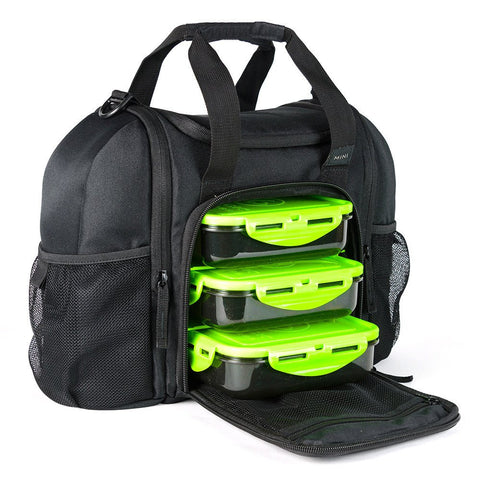 Bag Innovator Mini Black/Neon Green