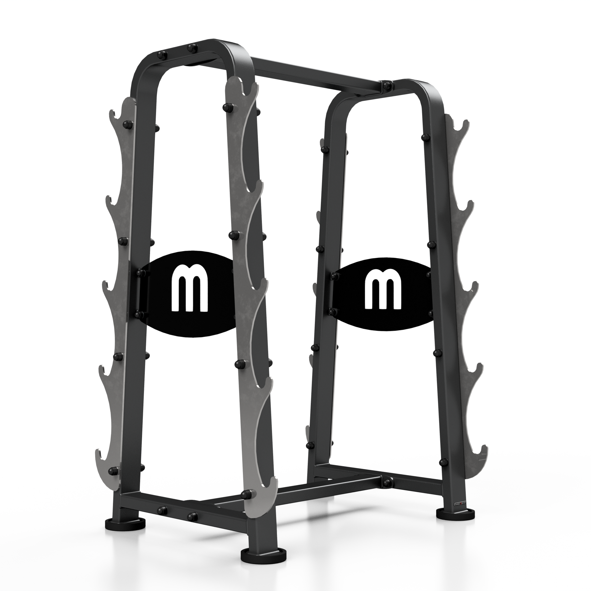 pieces barbell sl storage rubber ziva piece set vertical kg rack