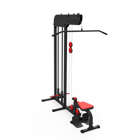 Lat Pull Down and Low Rowing Machine