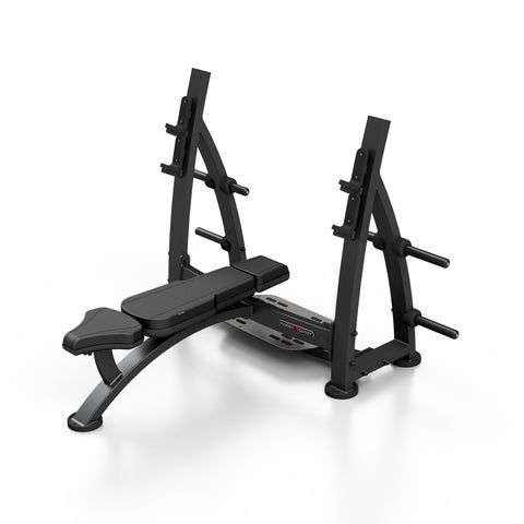 Olympic Flat Bench Press With Racks