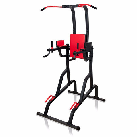 Power Tower:  Leg Raise, Dips and Pull Up Station