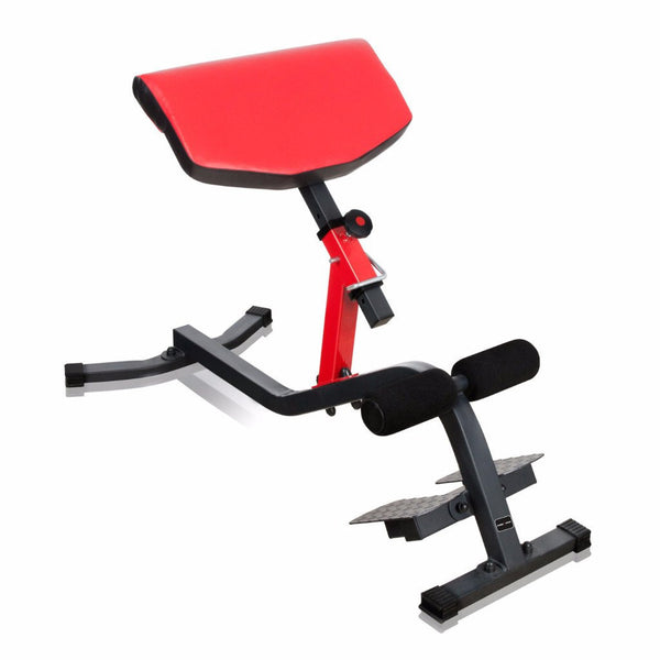 Preacher Curl & Lower Back Extension Bench (Multifunctional)