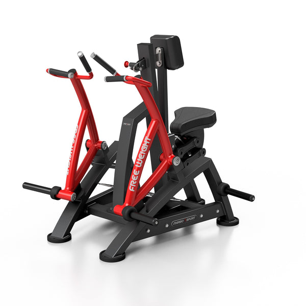 Seated Lateral Row Machine (Free Weight)
